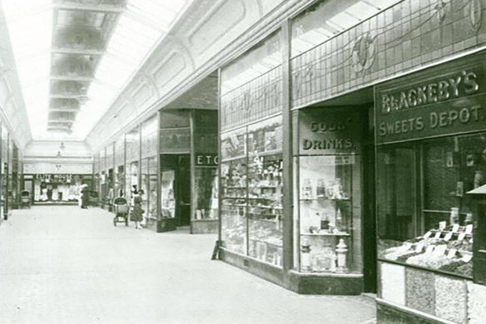 Blackeby's Sweets Depot in the Central Market Arcade.